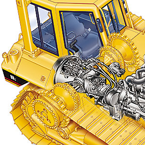 Cat® D6N XL Track-type Tractor 13966961 (Non Current) for