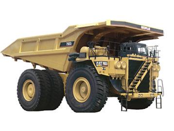 Foto del Dúmper para Minería 793D