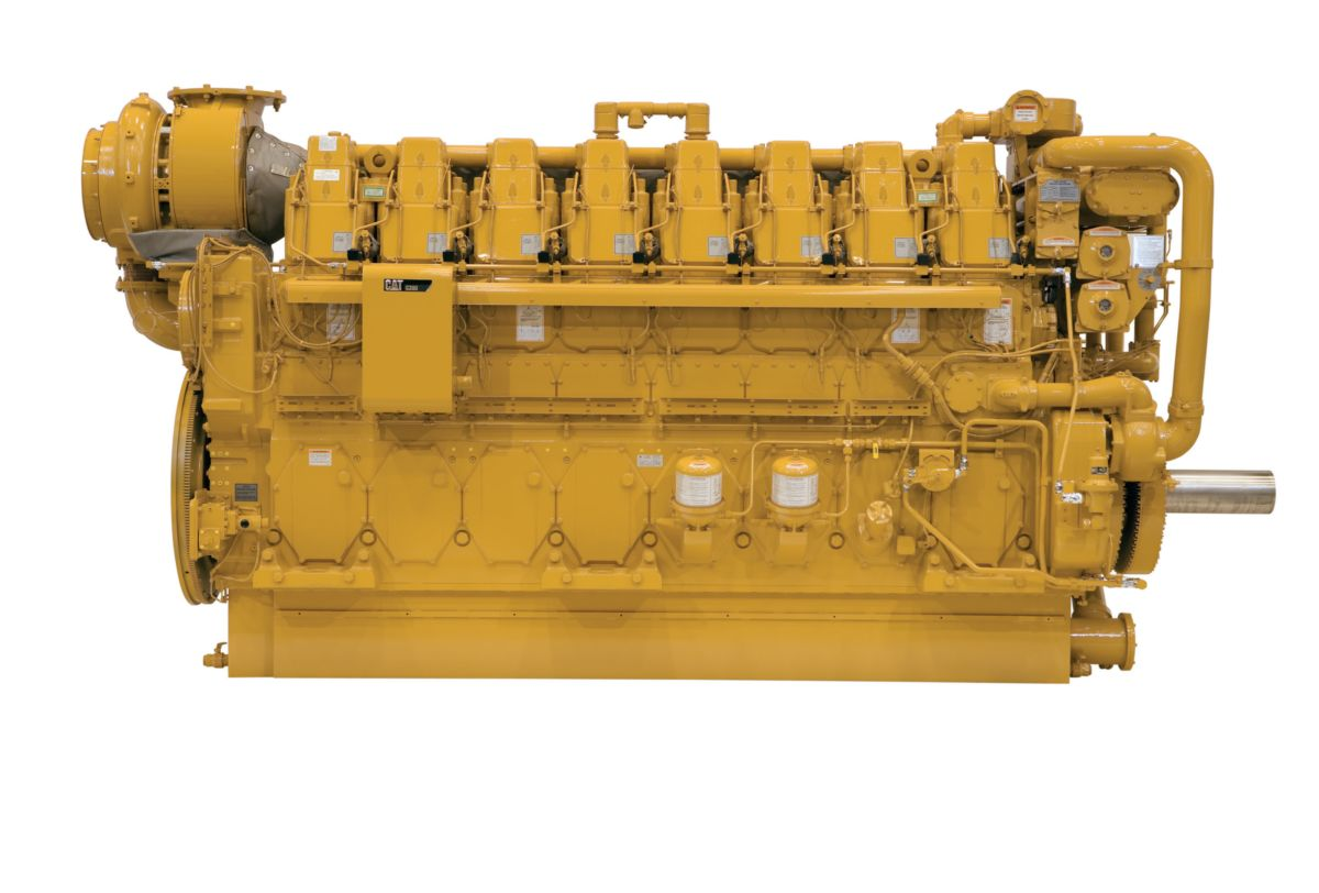 C280-8 Marine Propulsion Engine (U.S. EPA Tier 4)