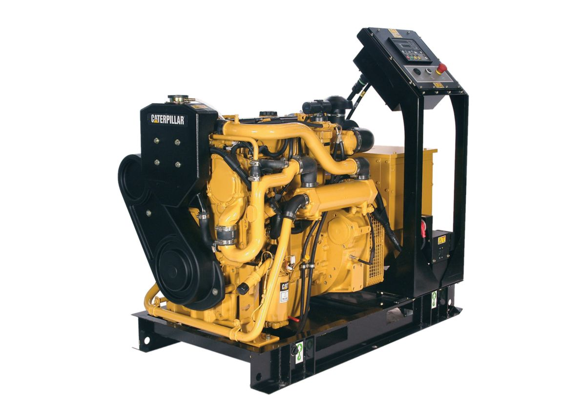 Cat<sup>®</sup> C4.4 Marine Generator Set