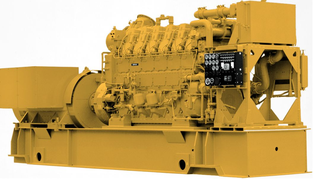 Cat C280-6 Marine Generator Set