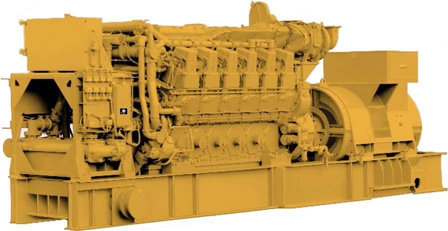 Cat C280-12 Marine Generator Set
