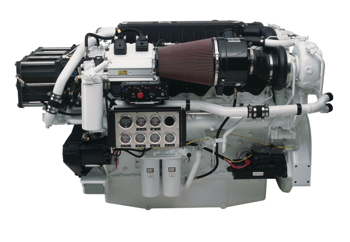 Cat C32 ACERT High Performance Marine Propulsion Engine (Tier 3 Rec)