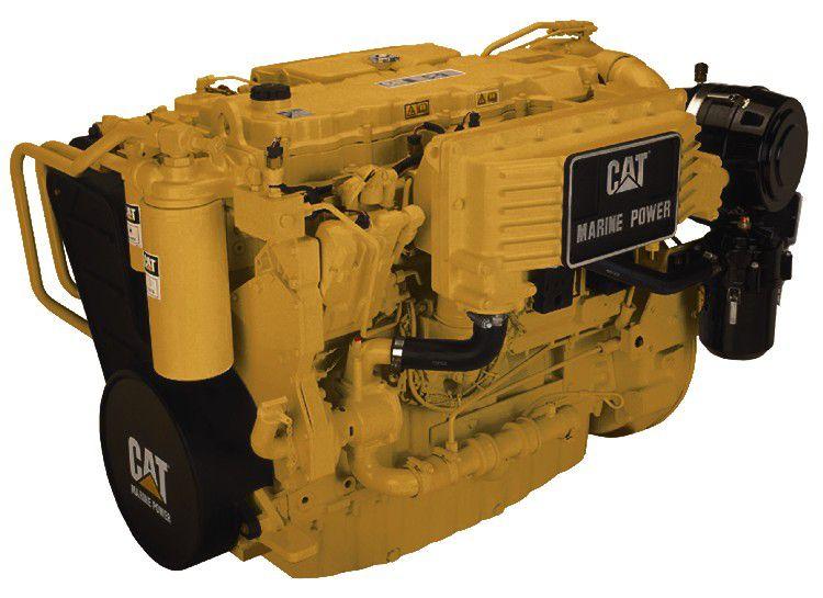 Cat C9 Marine Generator Set Engine