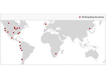 ThinkBig Locations Map