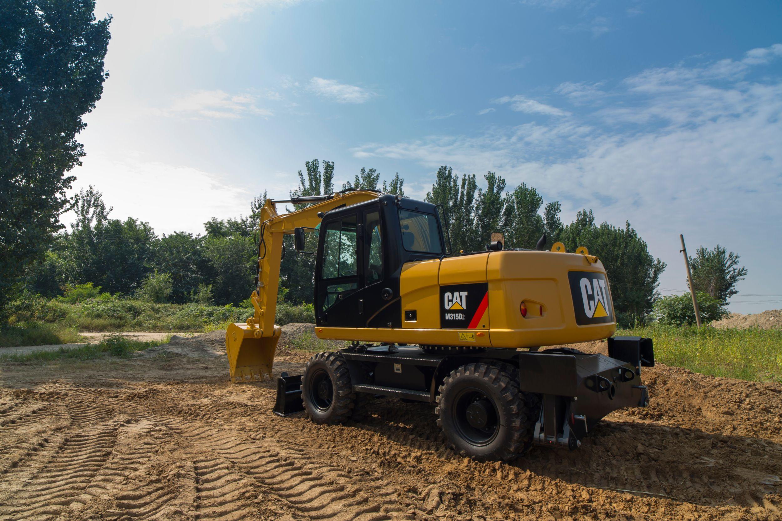 Excavadora de Ruedas M315D2