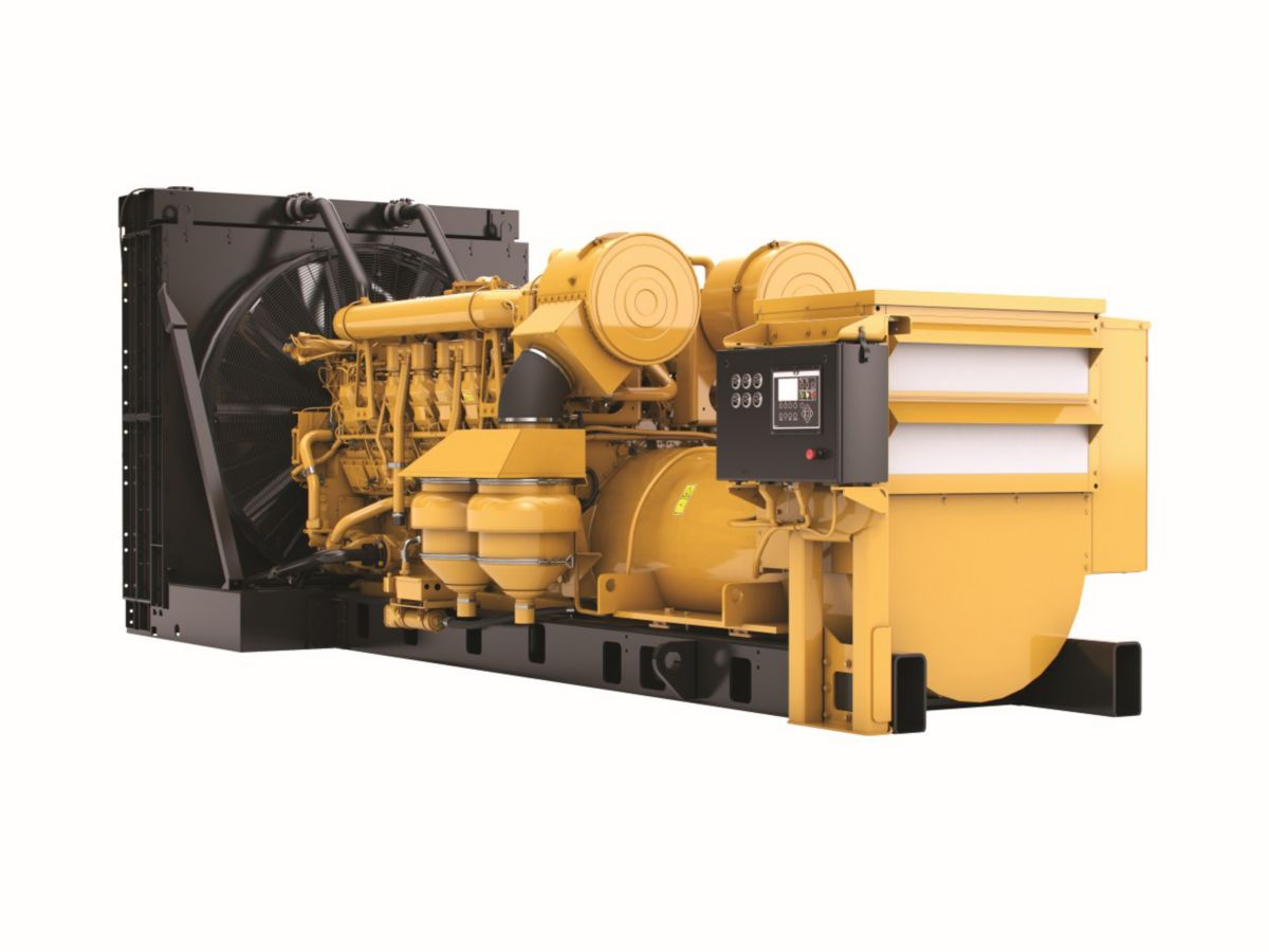 3516B Diesel Generator Set with Dynamic Gas Blending