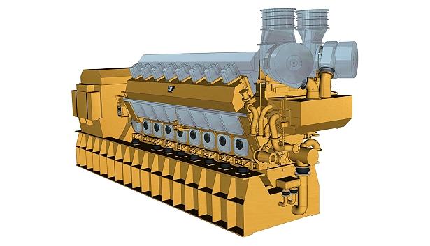 16CM43C Offshore Generator Set