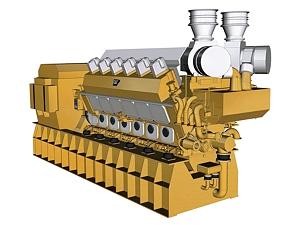 12CM43C Offshore Generator Set