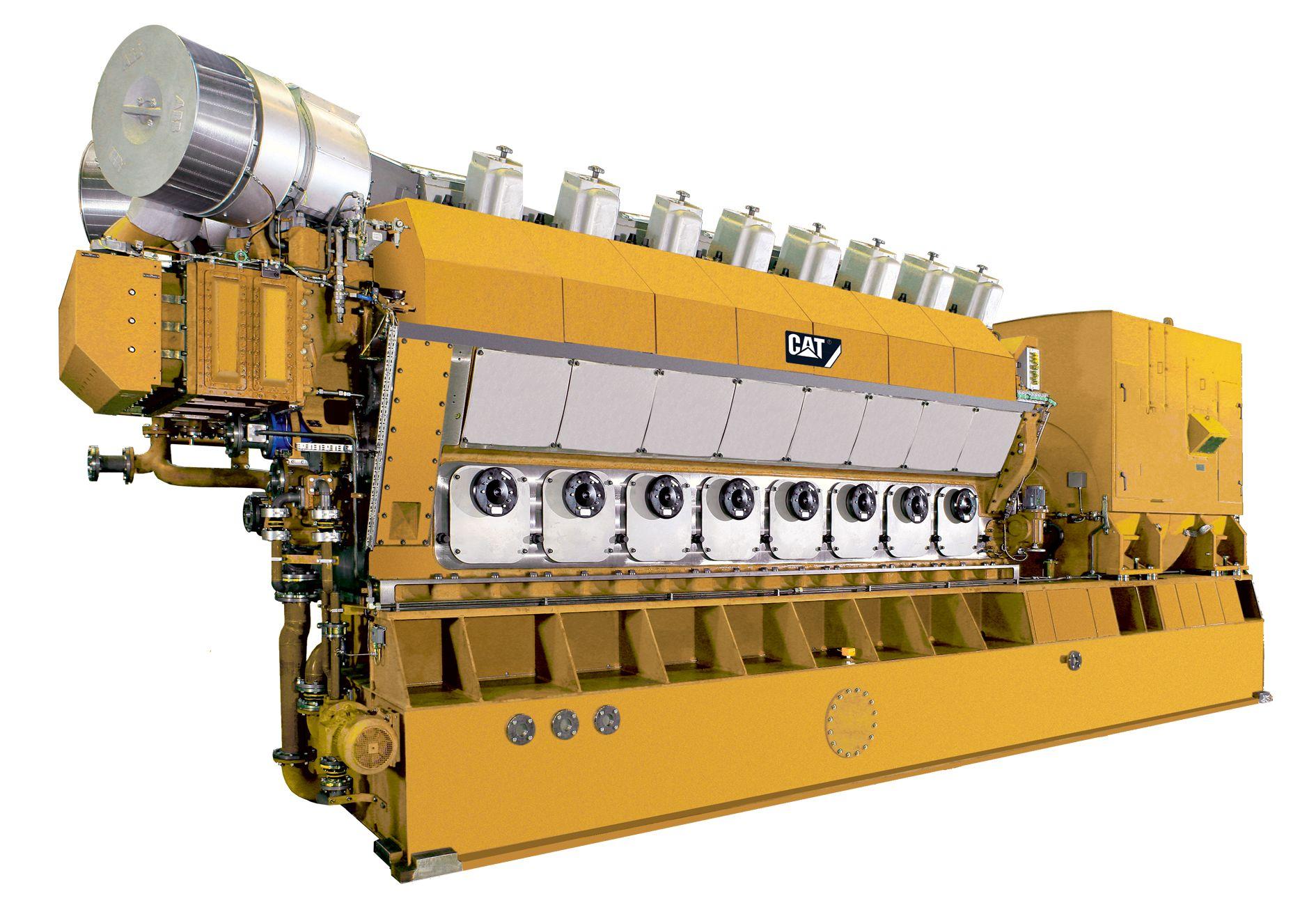 16CM32C Offshore Generator Set