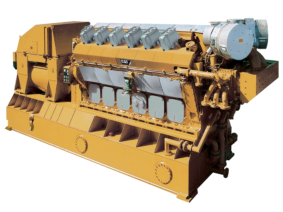 12CM32C Offshore Generator Set