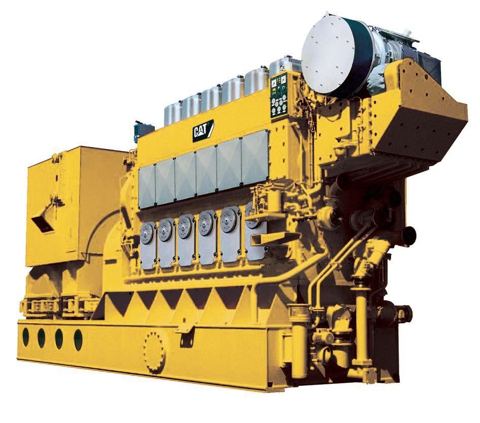 Grupo Electrógeno de Alta Mar 6CM32C
