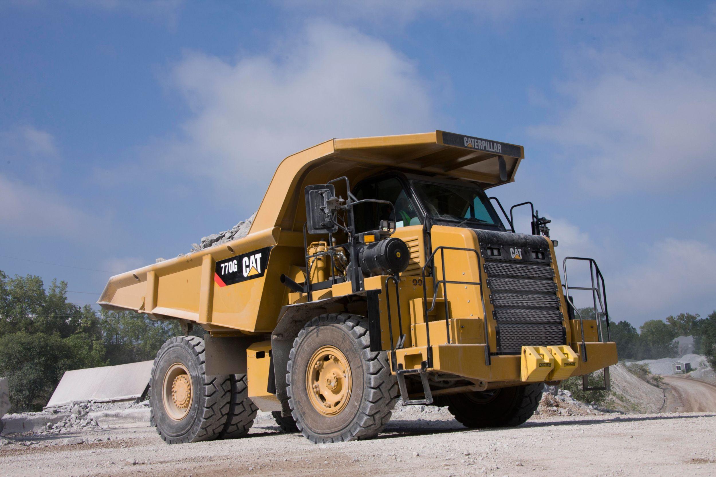 Camiones de Obras 770