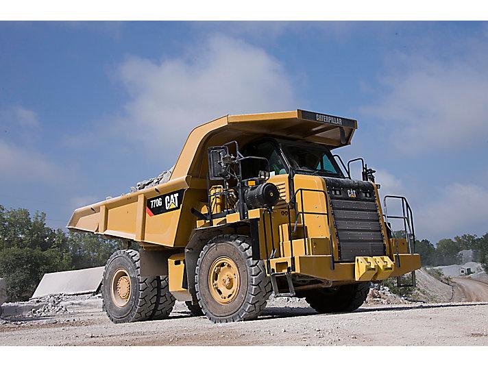 770 Off-Highway Truck | Finning CAT