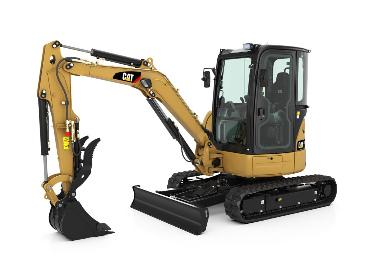 New Caterpillar Mini Excavators