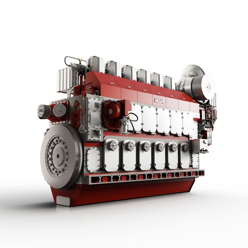 M 46 DF Marine Propulsion Engine