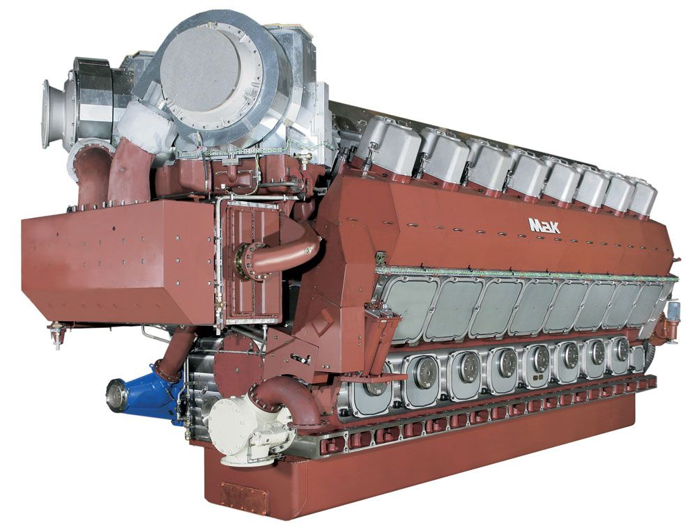 VM 43 C Propulsion Engine