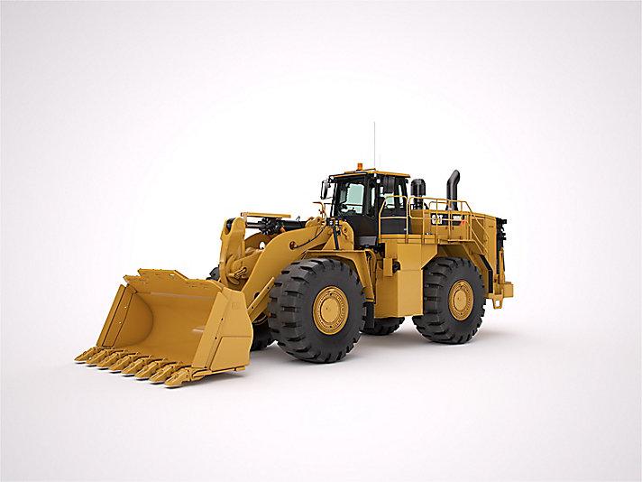 Cat 988k Uitvoering Voor Staalproductie Caterpillar