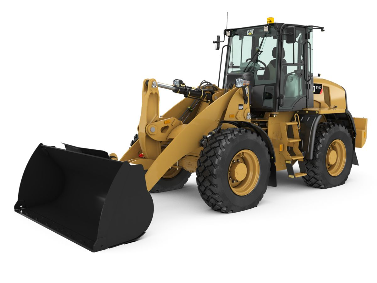 New Caterpillar Compact Wheel Loaders