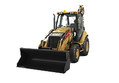 420F Backhoe Loader