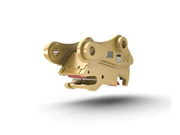 Acoplador para excavadora con sujetapasador: varillaje 315