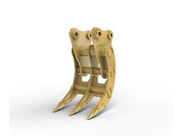 Varillaje D, 3 dientes