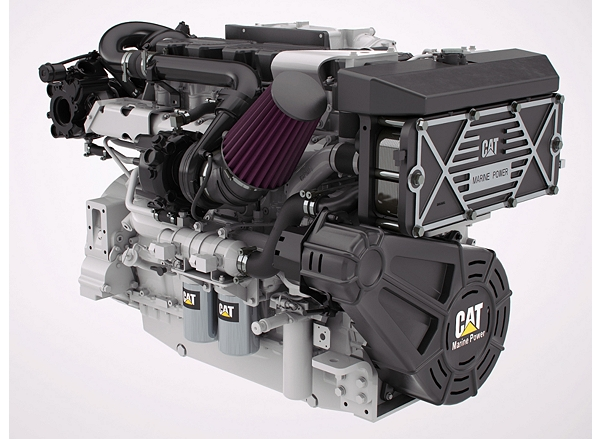 Cat C18 ACERT High Performance Propulsion Engine (Tier 3 Recreational)