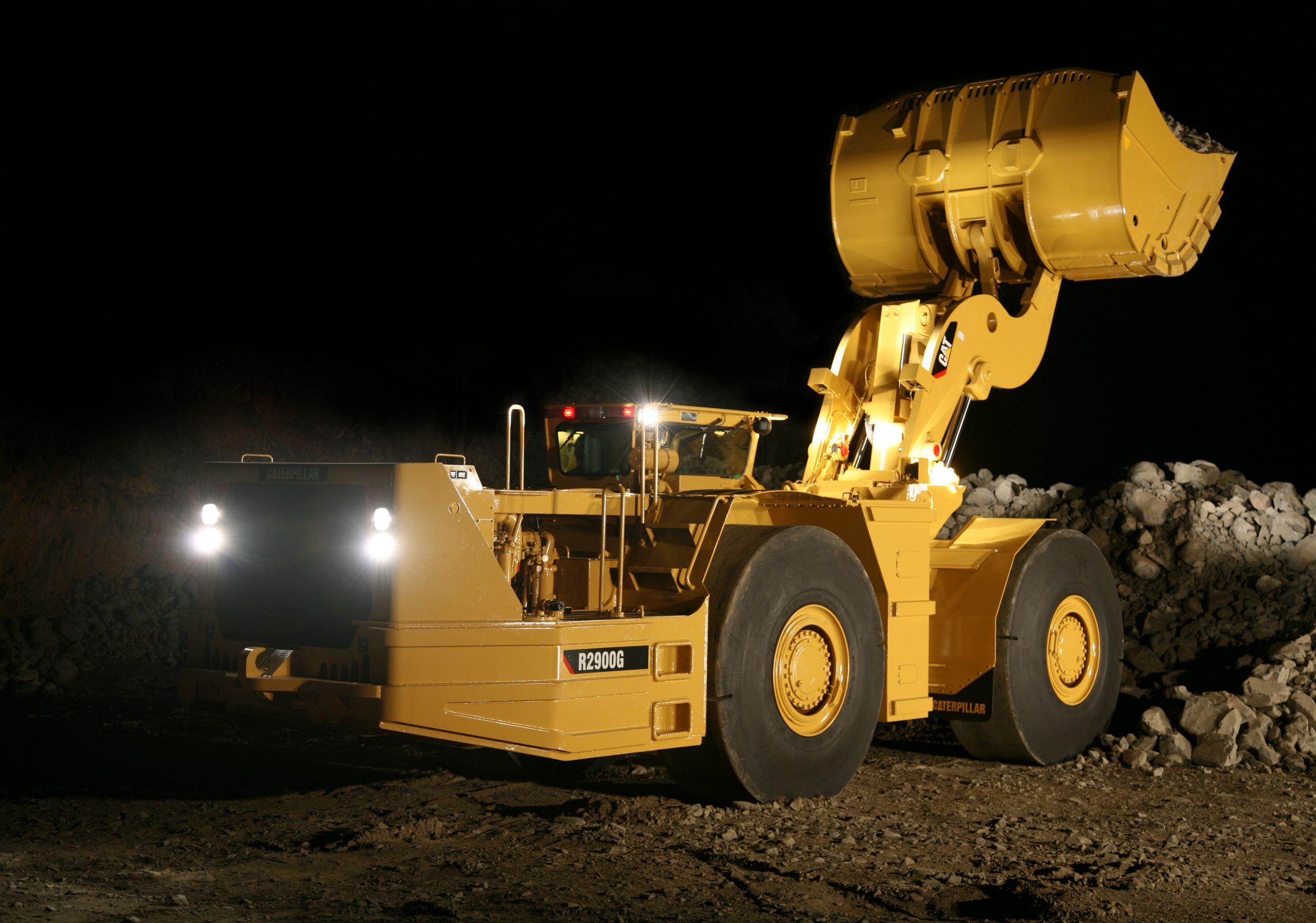 R2900G Underground Mining Load-Haul-Dump (LHD) Loader>