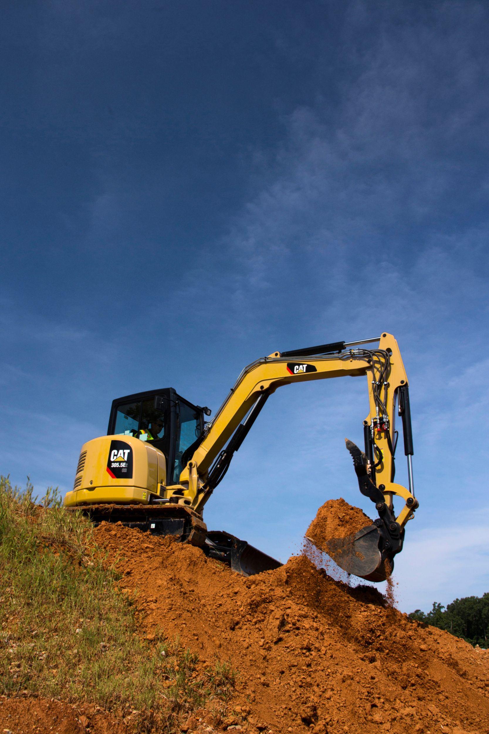 Cat 305 5e2 Cr Mini Excavator Caterpillar