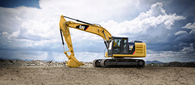 Cat Der Neue Bagger Cat 323f L Ist Sehr Sparsam Und So Besonders