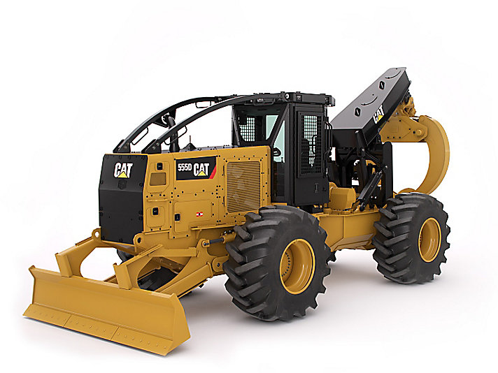 Cat 555d Wheel Skidder Caterpillar