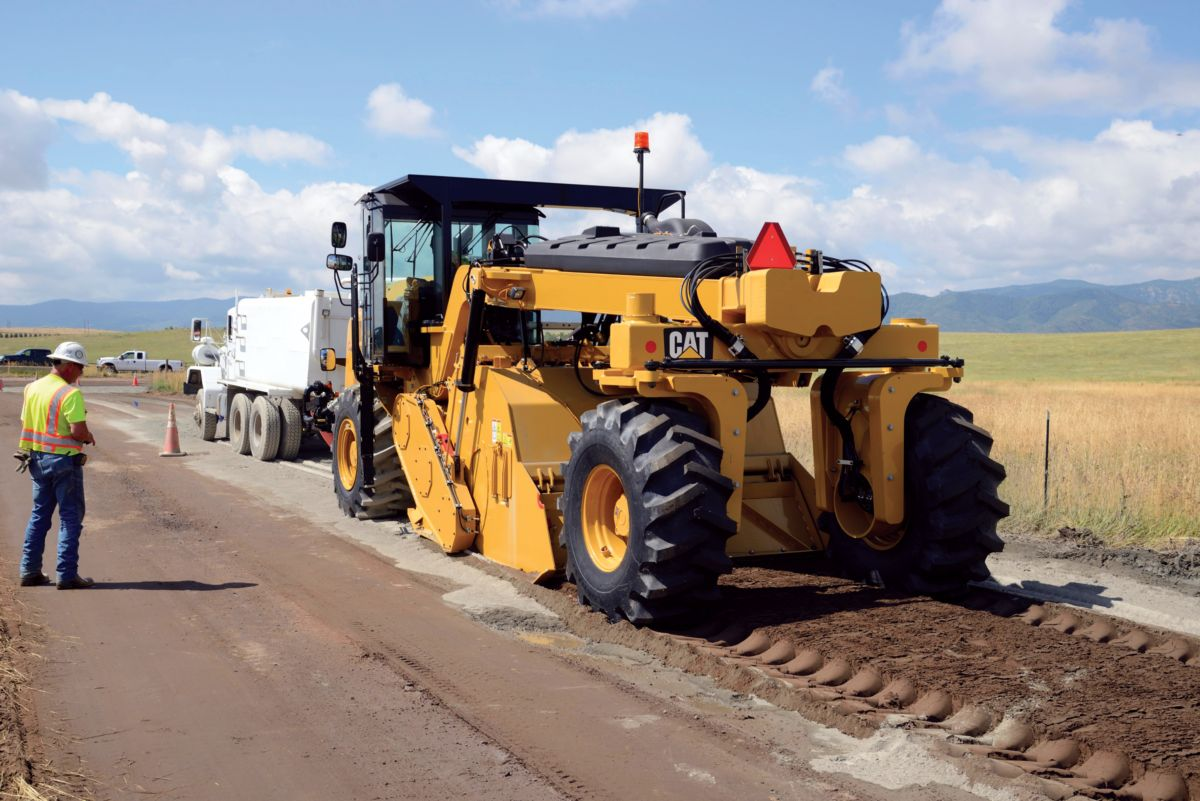 product-RM500B Road Reclaimer