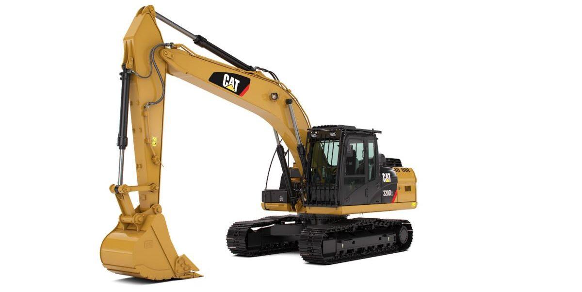 Cat 320d2 Excellent Reliability Low Fuel Consumption