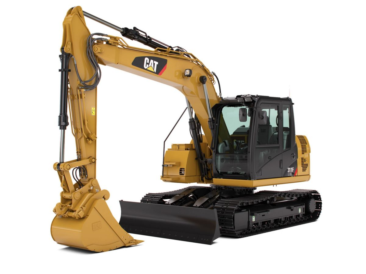 311F L RR Hydraulic Excavator marketing ready geometry>