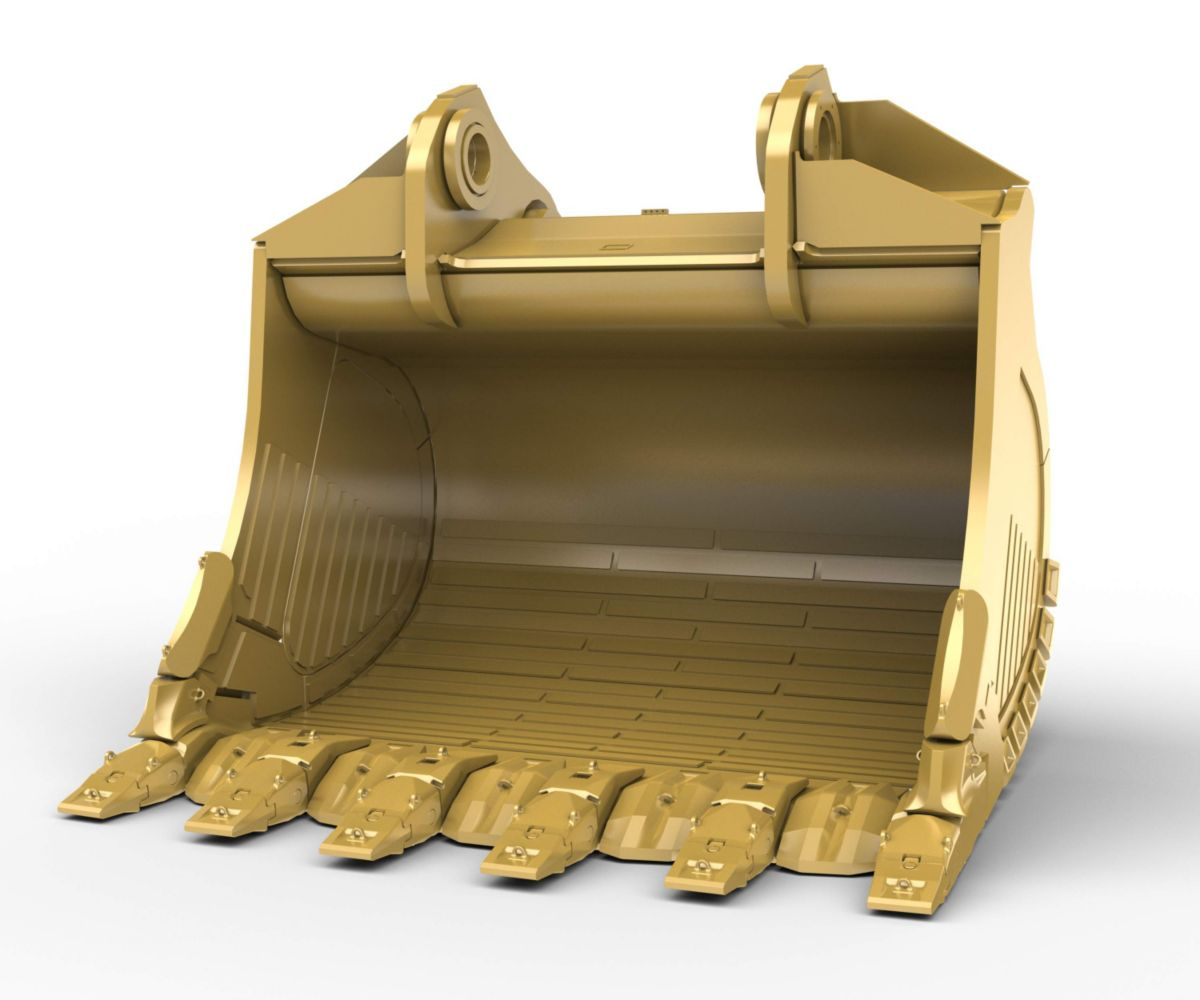 22m³ (28.8yd³) Standard Rock bucket for the 6050 Hyd Mining Shovel>