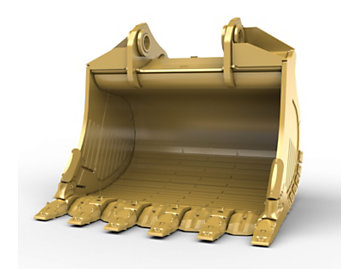 Foto del 7m? (9.2yd?) Standard Rock bucket for the 6015 Mass Excavation Hyd Mining Shovel