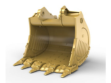 Foto del 10m? (13.1yd?) Standard Rock bucket for the 6018 Hyd Mining Shovel