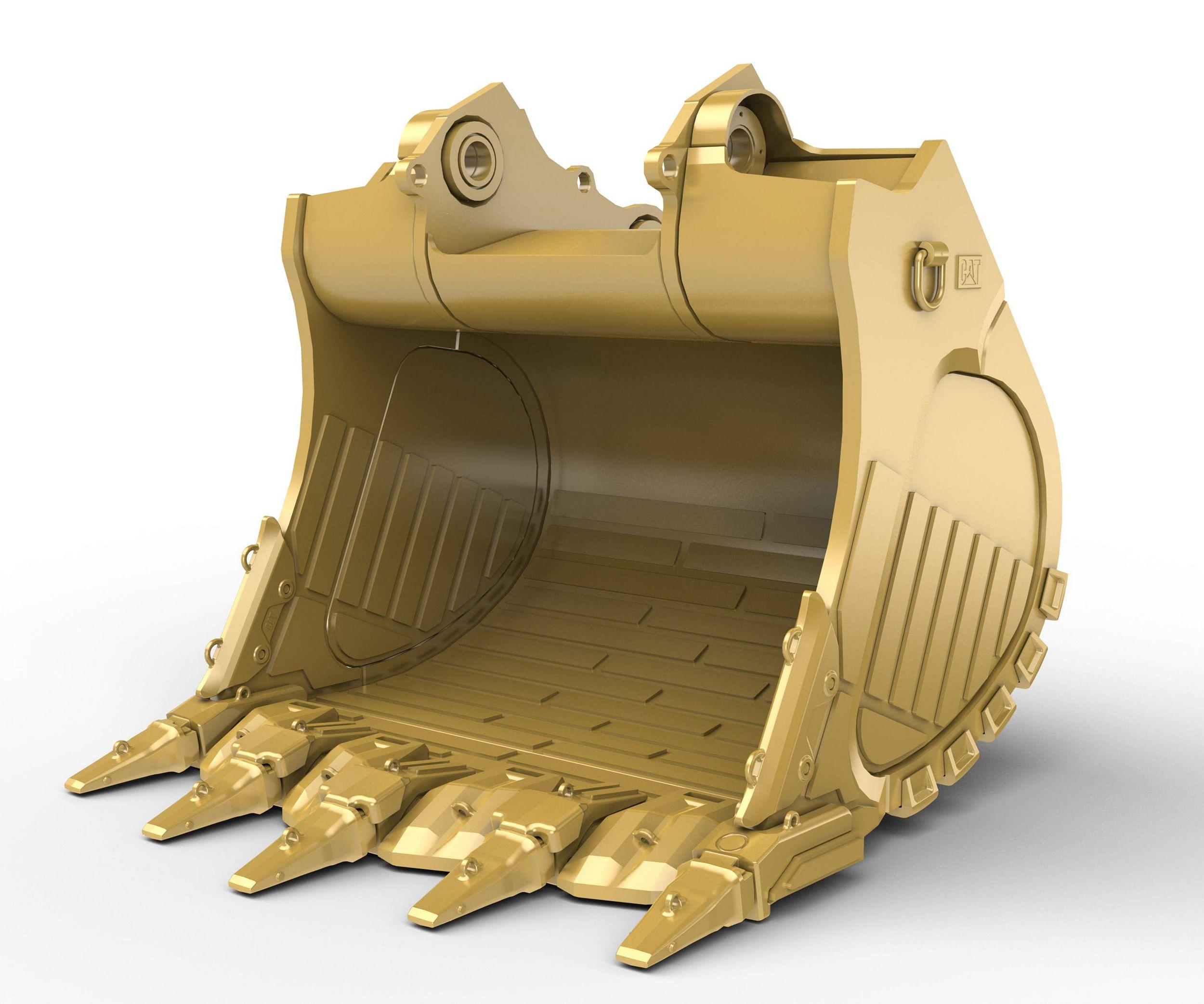 8.5m³ (11.1yd³) Heavy Rock bucket for the 6018 Hyd Mining Shovel