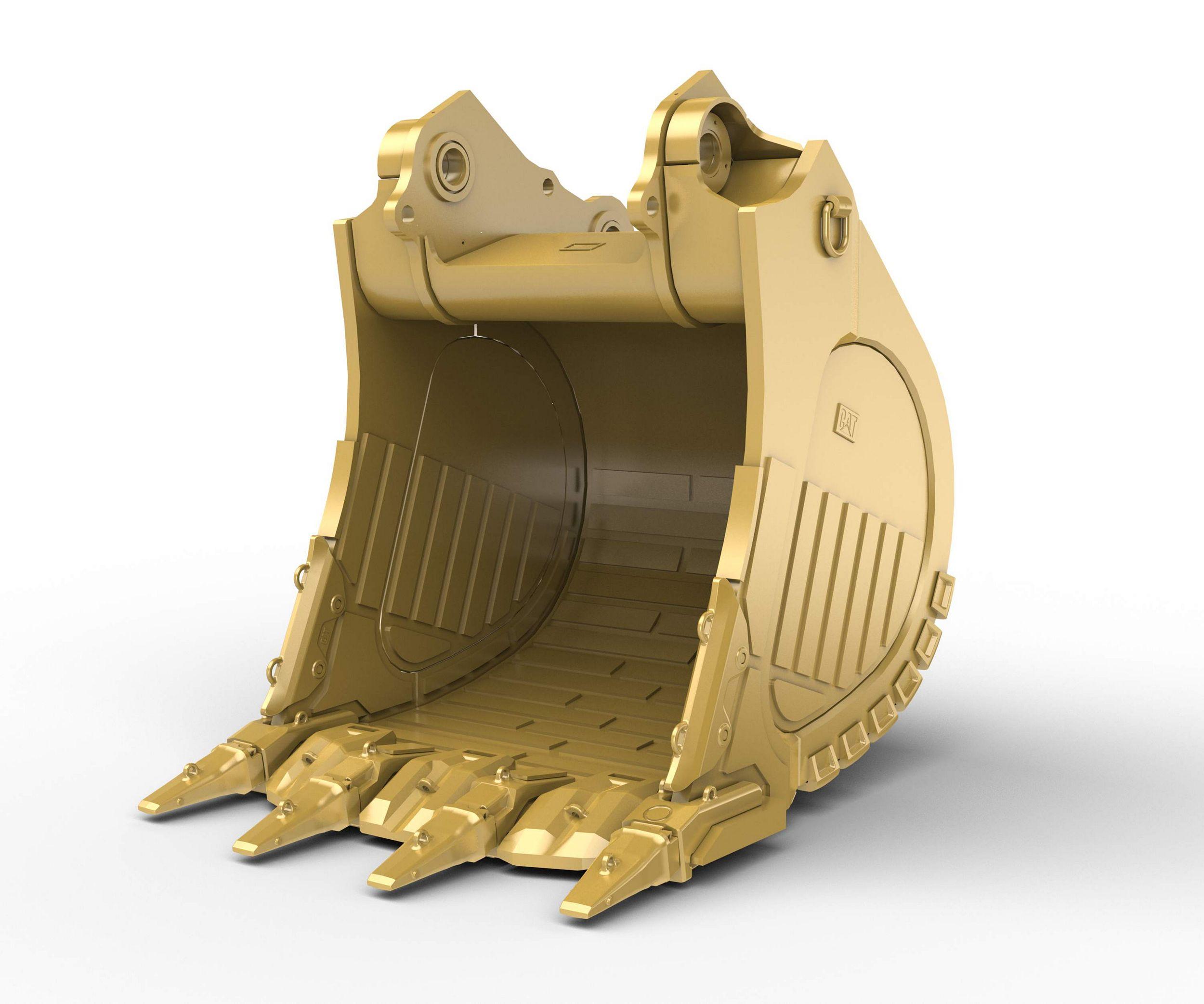 7.5m³ (9.8yd³) Heavy Rock bucket for the 6018 Hyd Mining Shovel