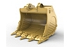 6m³ (7.8yd³) Heavy Rock bucket for the 6015 Mass Excavation Hyd Mining Shovel