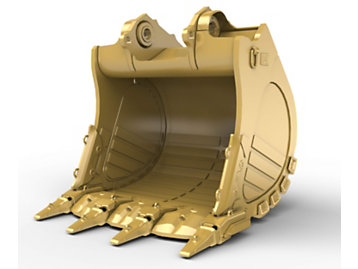 Foto del 4.6m? (6.0yd?) Heavy Rock bucket for the 6015 Mass Excavation Hyd Mining Shovel