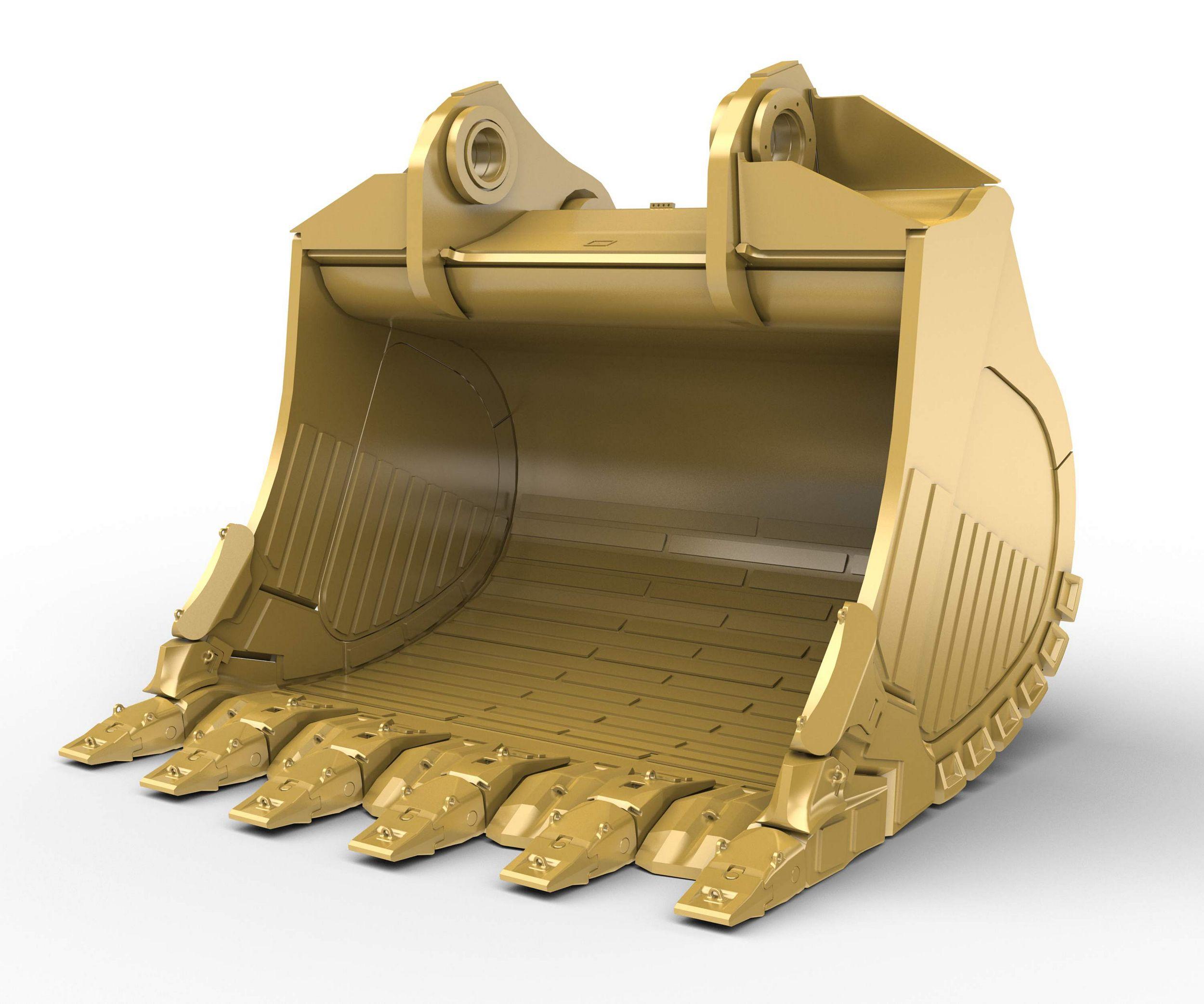 25m³ (32.7yd³) Heavy Rock bucket for the 6050 Hyd Mining Shovel