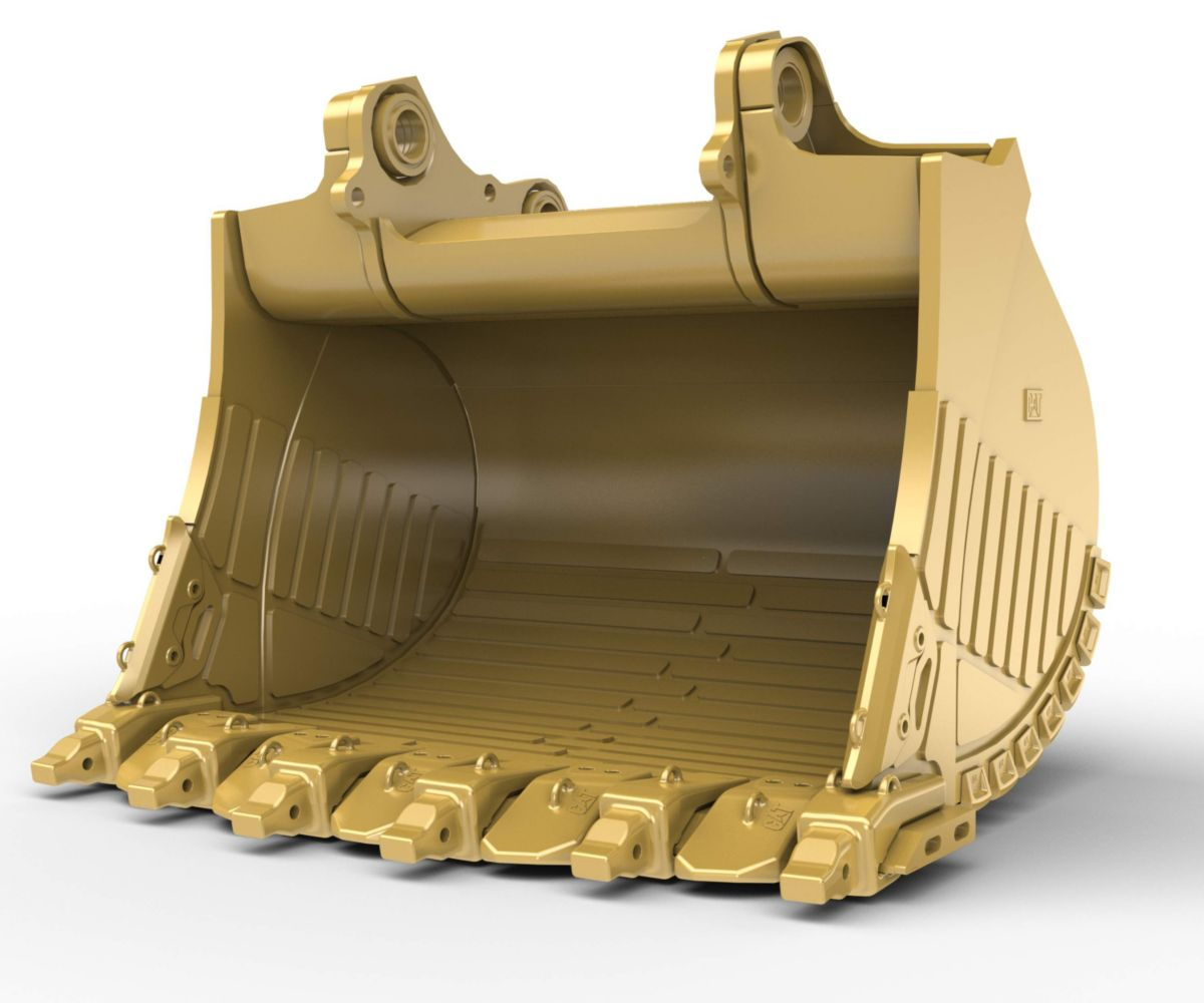 12m³ (15.7yd³) Heavy Rock bucket for the 6020B Hyd Mining Shovel>