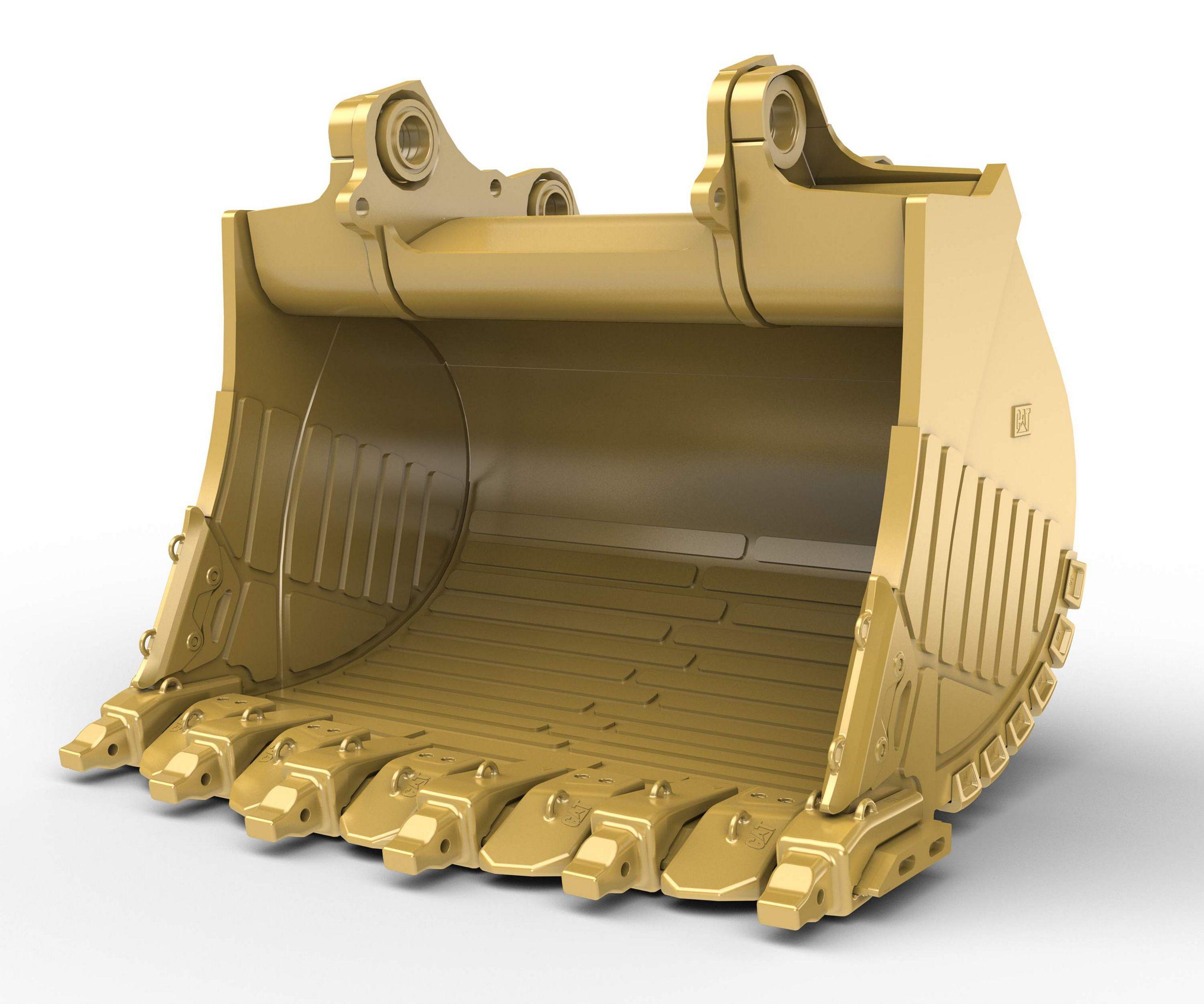 11m³ (14.4yd³) Heavy Rock bucket for the 6020B Hyd Mining Shovel