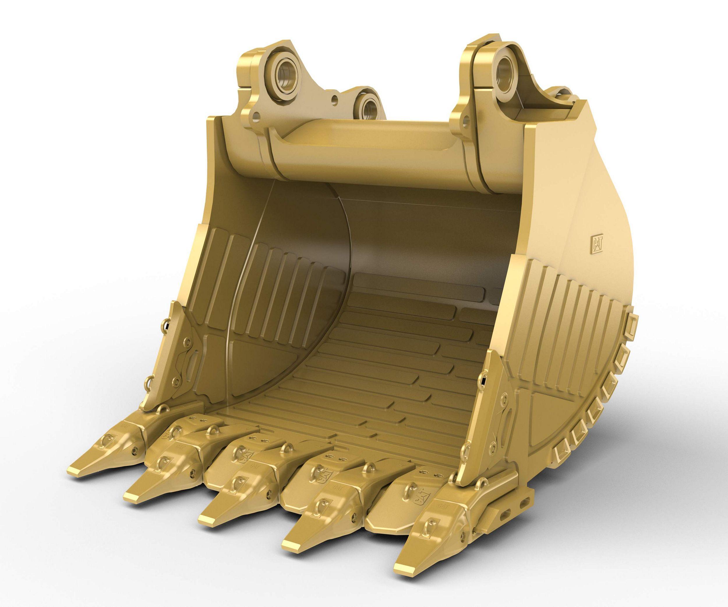 9m³ (11.8yd³) Heavy Rock bucket for the 6020B Hyd Mining Shovel