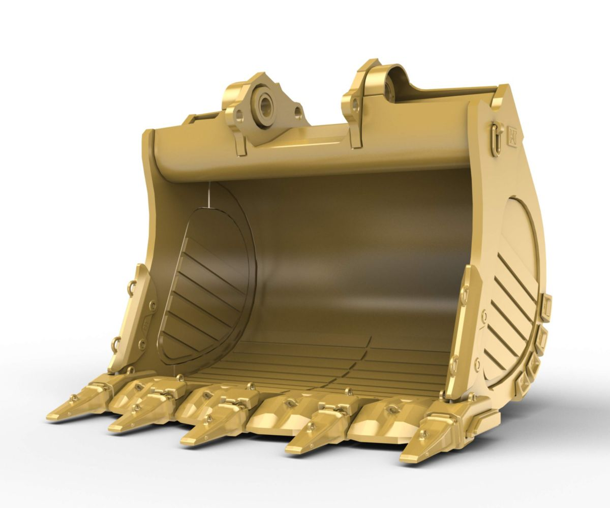 6m³ (7.8yd³) Standard Rock bucket for the 6015 Hyd Mining Shovel>