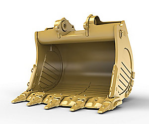 6m³ (7.8yd³) Standard Rock bucket for the 6015 Hyd Mining Shovel