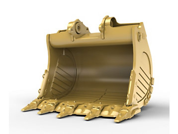 Foto del 6m? (7.8yd?) Standard Rock bucket for the 6015 Hyd Mining Shovel
