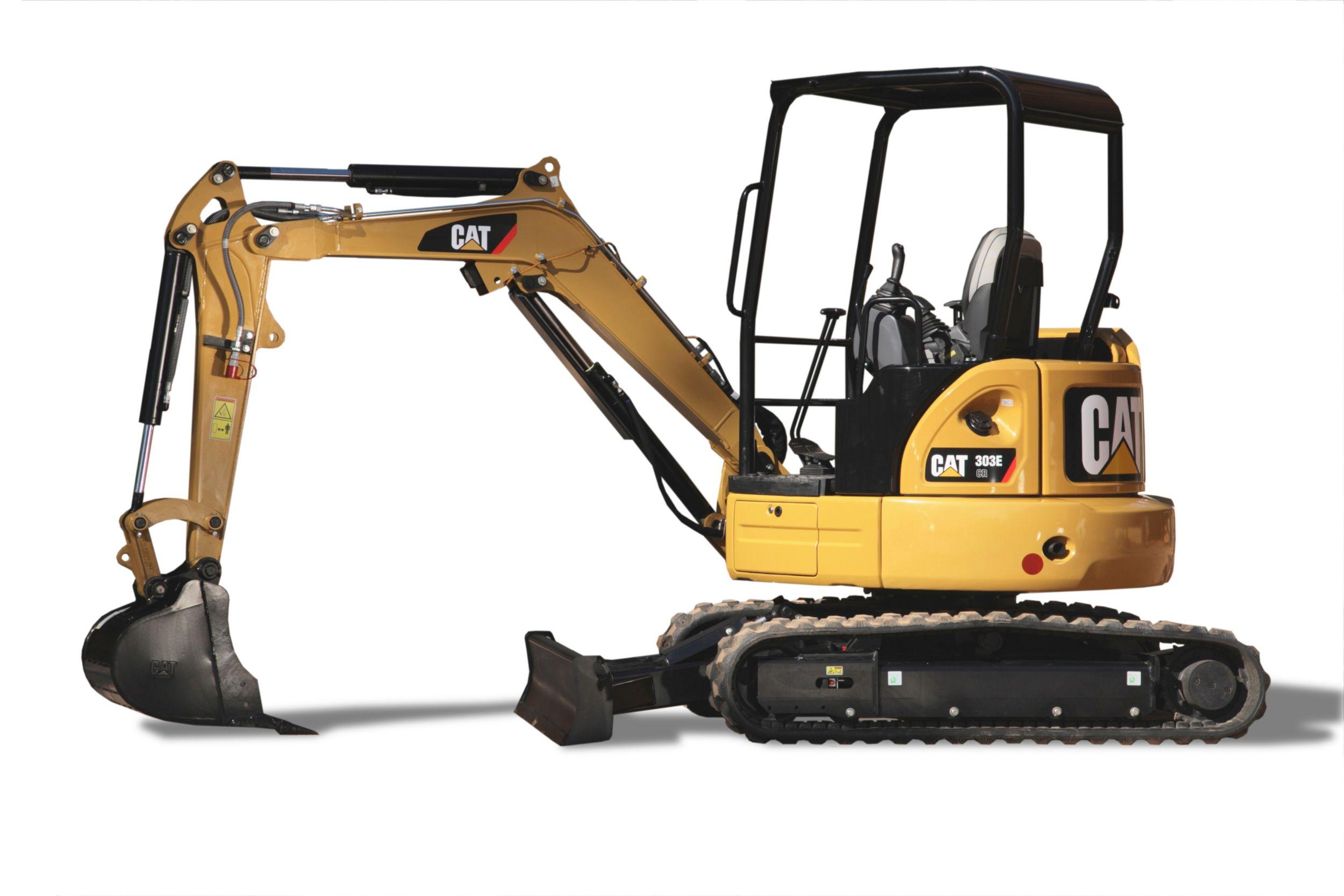 303e Cr Mini Excavator Cat Caterpillar