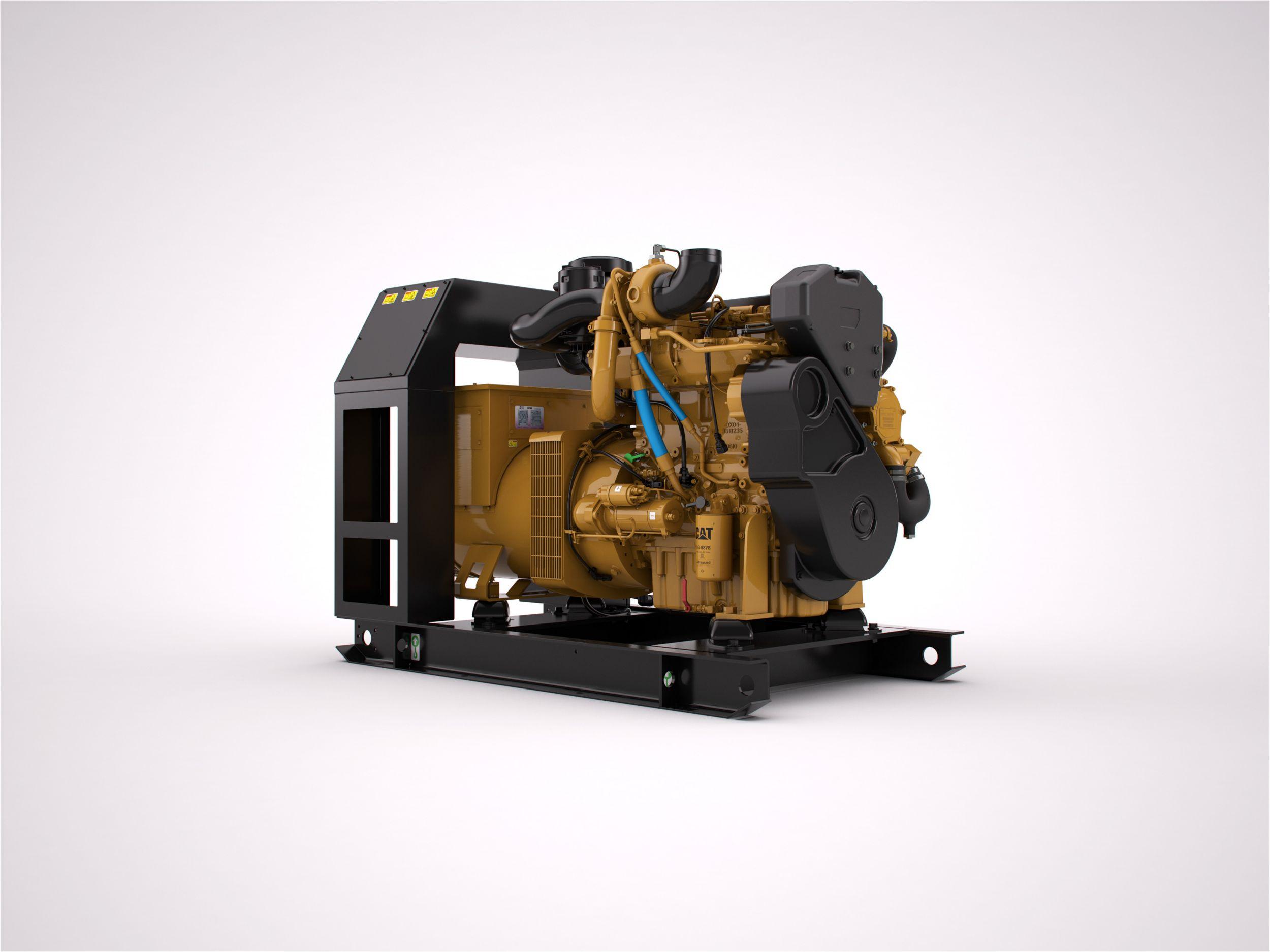 Cat® C4.4 ACERT Marine Generator Set